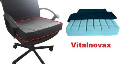 cojin silla oficina escritorio viscoelastico coxis antipresion